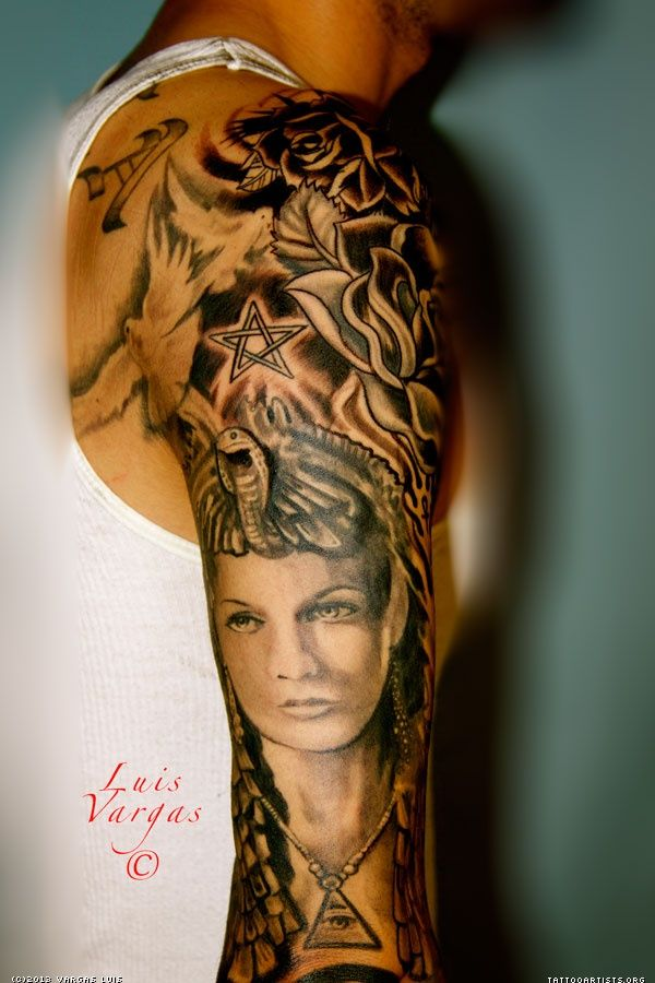 42 best Cleopatra Tattoo images on Pinterest | Cleopatra ...