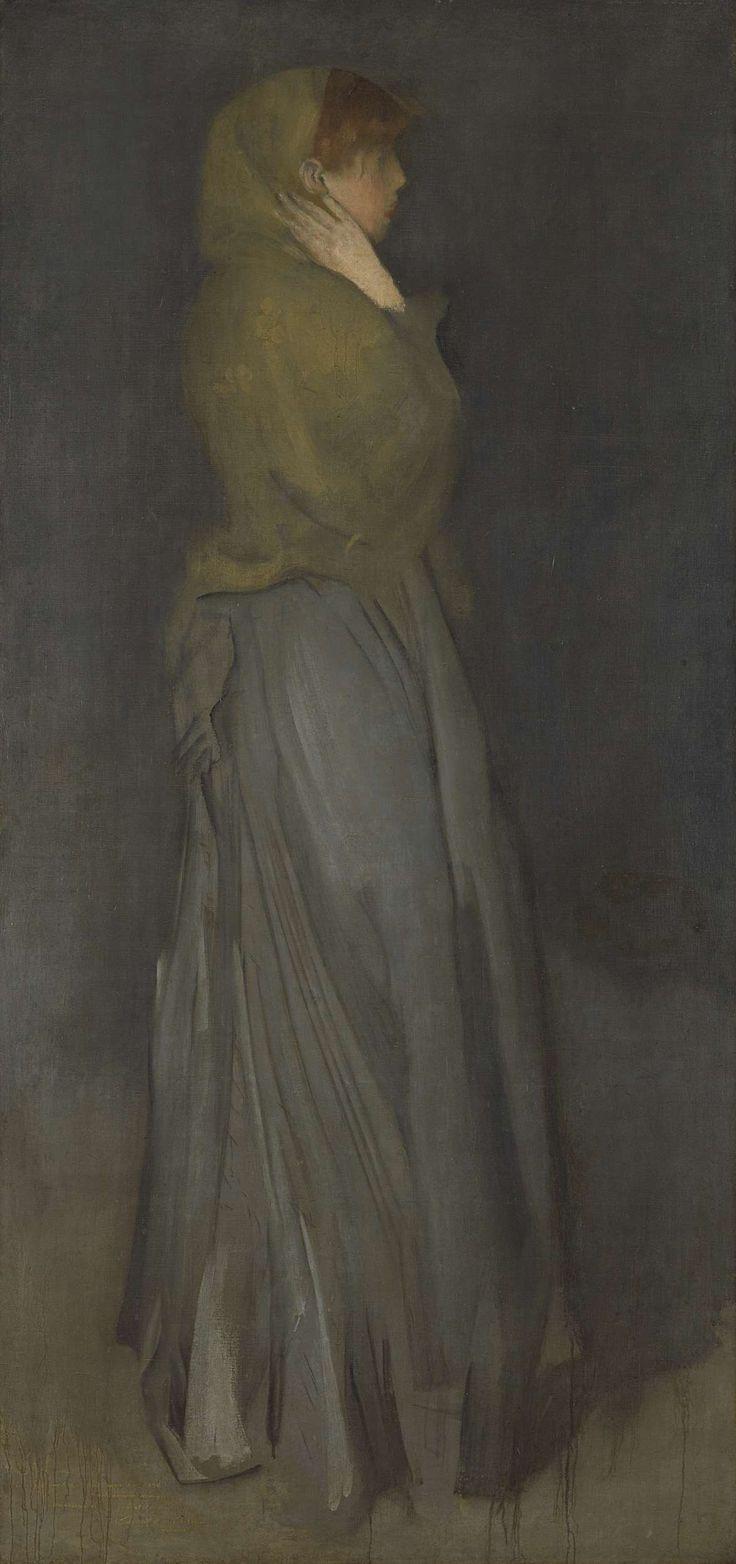 �Arrangement in Yellow and Gray�: Effie Deans, James Abbott McNeill Whistler, ca. 1876 - ca. 1878