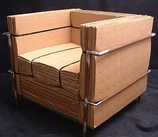 modern cardboard chairs