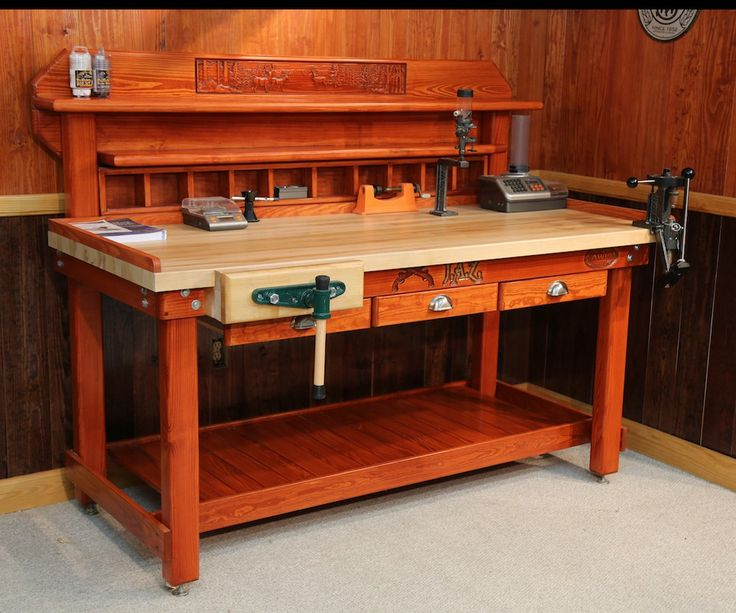 cool garage ideas diy - 25 unique Reloading bench plans ideas on Pinterest