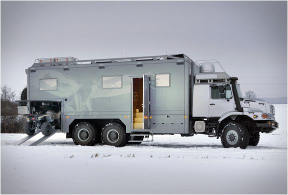 100 best images about mercedes benz rv and expedition for Mercedes benz zetros 6x6 expedition vehicle