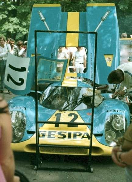 Porsche 917 007 Pits Endurance Pinterest
