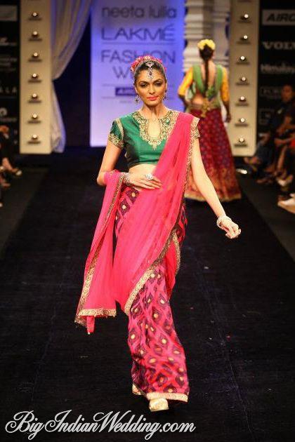 Neeta Lulla bridal collection Lakme Fashion Week 2012