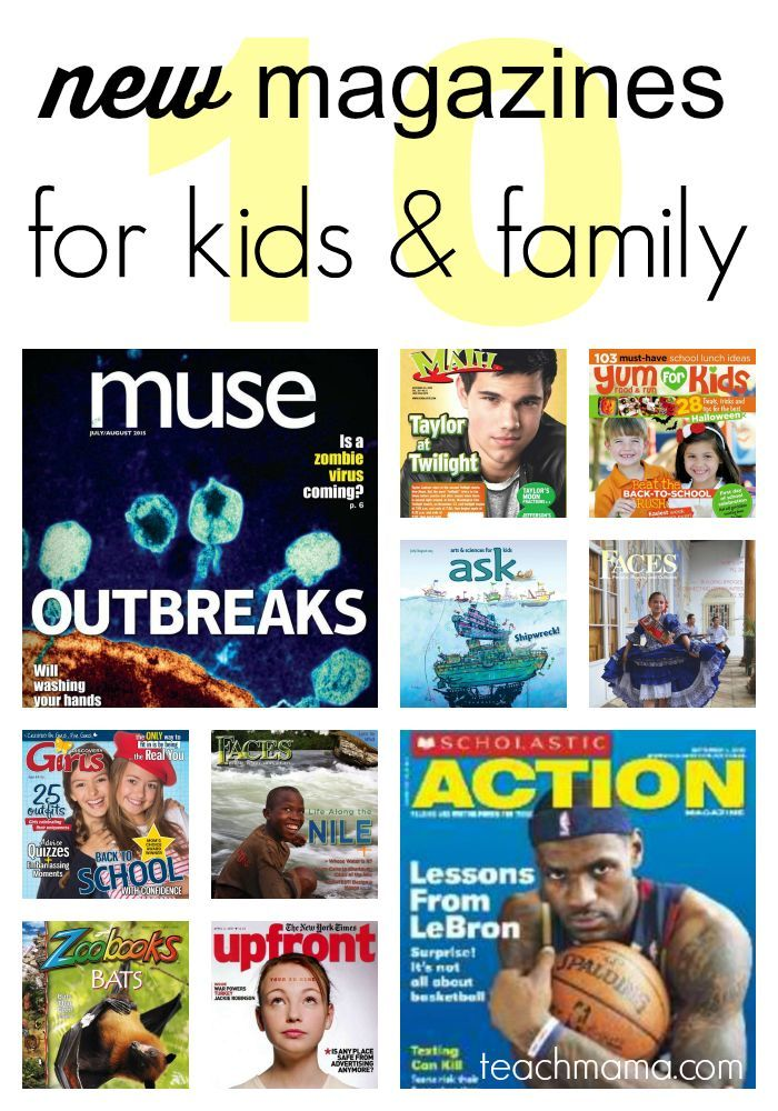 top 10 NEW magazines for kids and family | get family members reading with high-interest magazines
