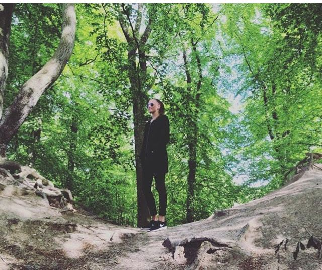 #todayswalk#inthewoods#withthebest 🙆🏽💕