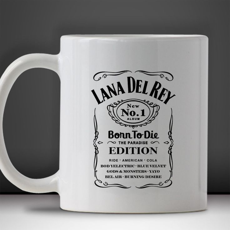 Lanna Del Rey Born To Die Mug, Tea Mug, Coffee Mug