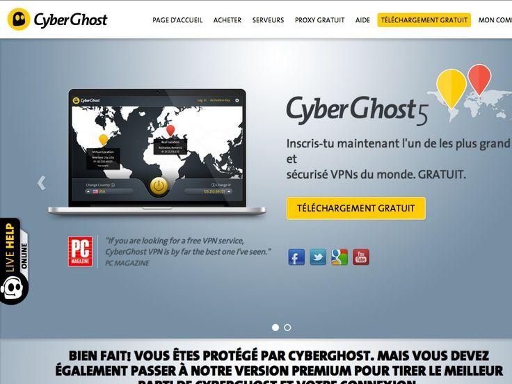 Test CyberGhost VPN Test du VPN CyberGhost
