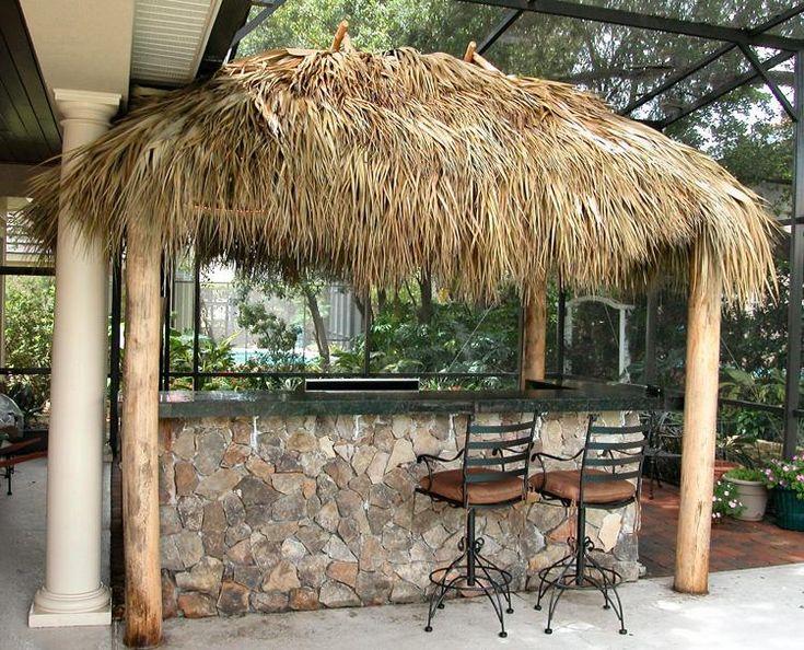 The 51 best Tiki Bars images on Pinterest | Decks, Outdoor bars and Backyard Tiki Hut Ideas on backyard basketball court ideas, backyard island ideas, backyard tree house ideas, backyard palapa ideas, backyard bbq pit ideas, backyard deck ideas, backyard sauna ideas, backyard fort ideas,