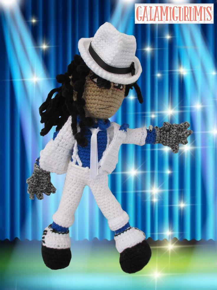 Michael Jackson Amigurumi: El Rey del Hilo Pop