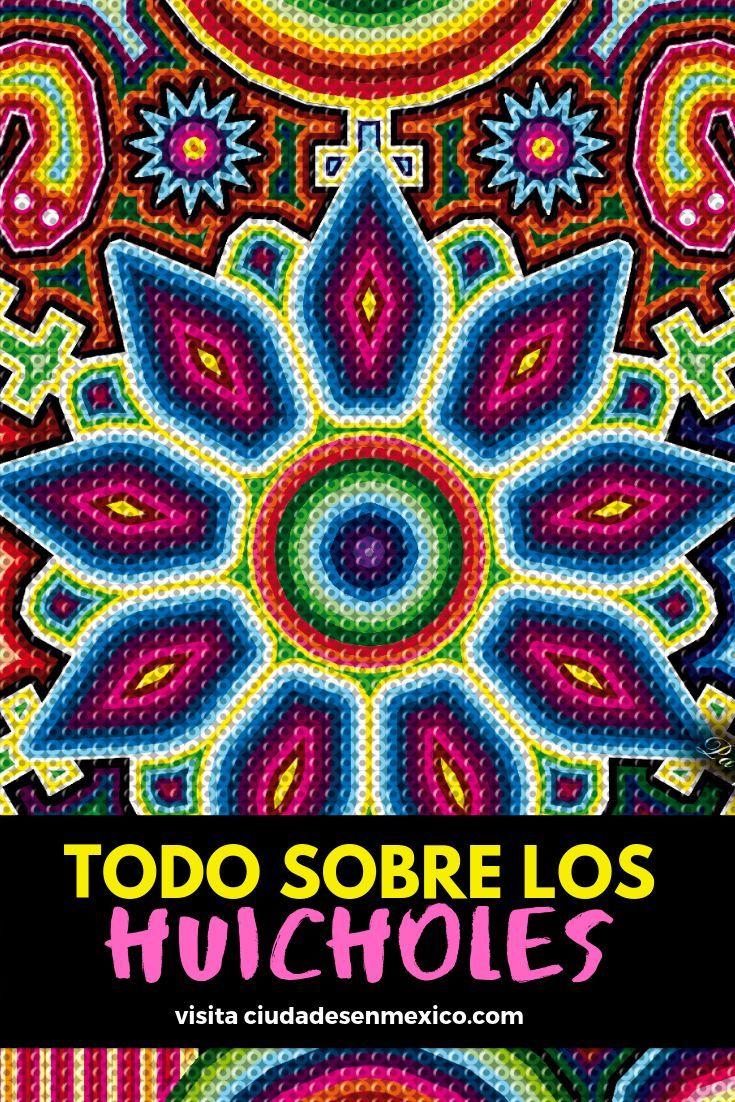 Todo Sobre Los Huicholes Su Cultura Tradiciones Vestimenta Artesanias Arte Huichol Cuadros Con Hilos Artesania Huichol