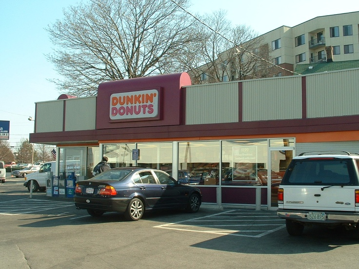 Very First Dunkin Donuts Location. grab some donuts and frappichinos for the road