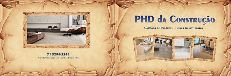 Catálogo de Pisos e Revestimentos - Loja Materiais de Construção