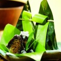 Kanom Sod Sai Also Known As Kanum Sai Sai Or Kanum Sai Is A Traditional Thai Dessert Made From Grated Coconut Meat Rice Powder Palm Sugar Rice Flower