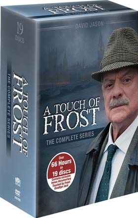"""A Touch of Frost"" A Touch of Frost: The Complete Series at BBC Shop A Touch of Frost, one of Britain's best loved TV detective dramas, stars Sir David Jason as Detective Inspector Jack Frost - an unconventional policeman with sympathy for the underdog and an instinct for moral justice. Sloppy, disorganized and disrespectful, he attracts trouble like a magnet."