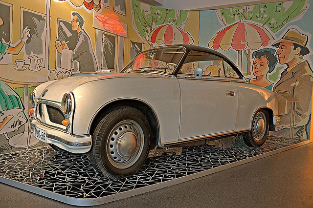 August Horch Museum Zwickau  AWZ P70 Coupé  in HDR, via Flickr.