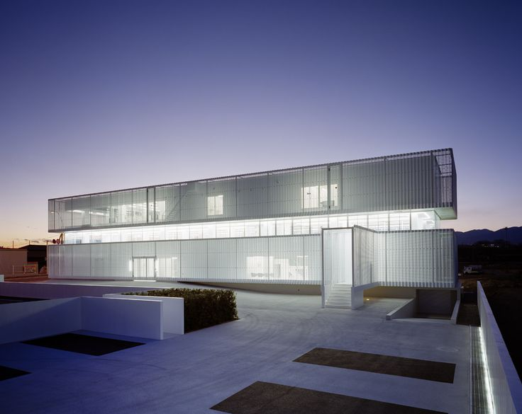 Jun Aoki & Associates:  JIN Co. Ltd is an office building located on the outskirts of Tokyo.