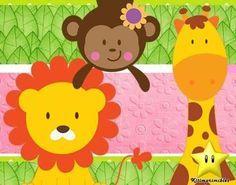 kit imprimible animalitos nene diseñá tarjetas invitaciones