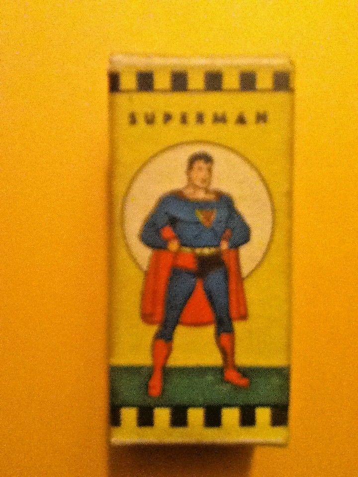 1940'S Superman Film Strip Display Box  RARE