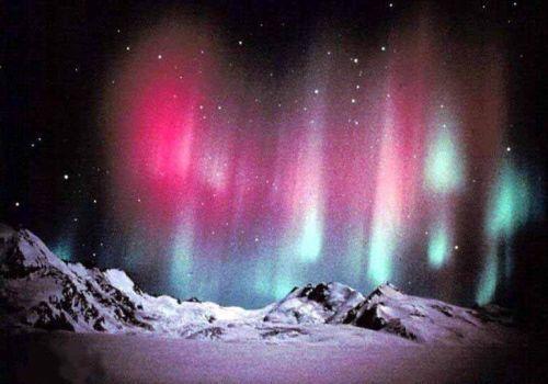 Северное (полярное) сияние, Северное сияние фото