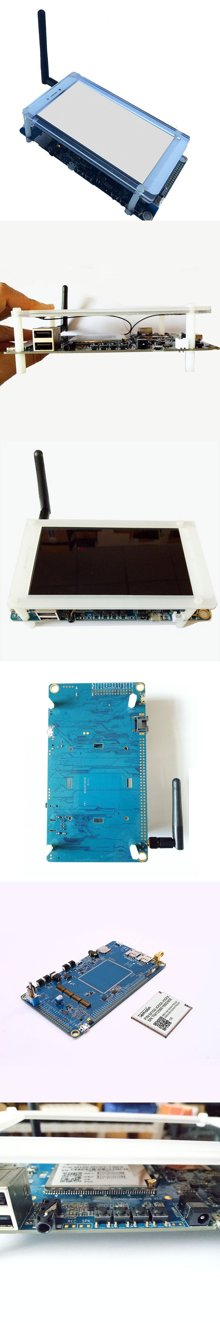 [SmartFly] Quad Core ARM Cortex A53 CPU, 450MHz Mali-T720 GPU, 2GB LPDDR3 + 16GB eMMC3 Cell Phone Development Board