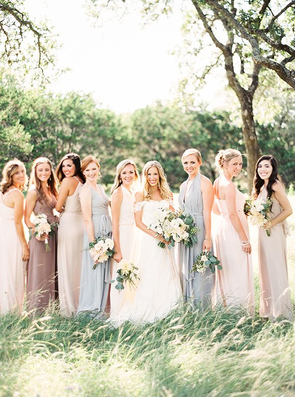Texas Hill Country Wedding by Kristen Kilpatrick  I absolutely loved our flowers! They definitely exceeded my expectations. I wanted the color palette to be simple–we had greens with white and pink. Everything looked very earthy and ethereal.