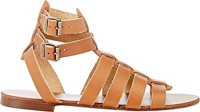 Barneys New York Double-Buckle Gladiator Sandals - Heels - 504111562