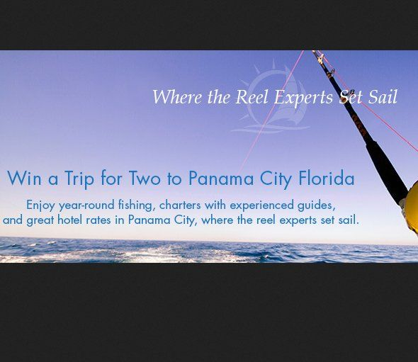 Grand Prize: A $400.00 2-night stay for two adults and up to two children in a Panama City, FL hotel and $100 Panama City restaurant gift card. Enter now.