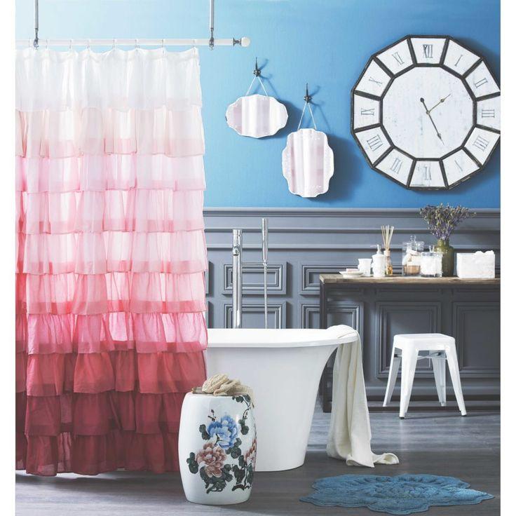 Pretty Teen Bathroom Design Ideas Blue Tone Wall