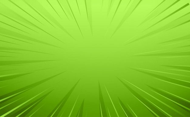 Download Empty Green Comic Style Zoom Lines Background for
