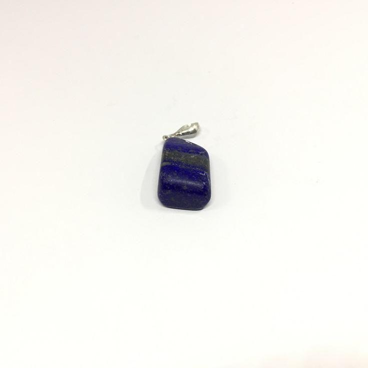 51.25 Carat, Parallelogram Cut Lapis Lazuli Pendant