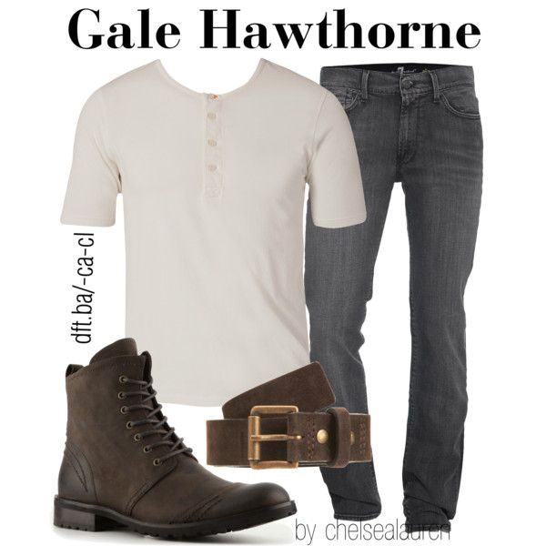 """Gale Hawthorne - The Hunger Games"" by chelsealauren10 on Polyvore"