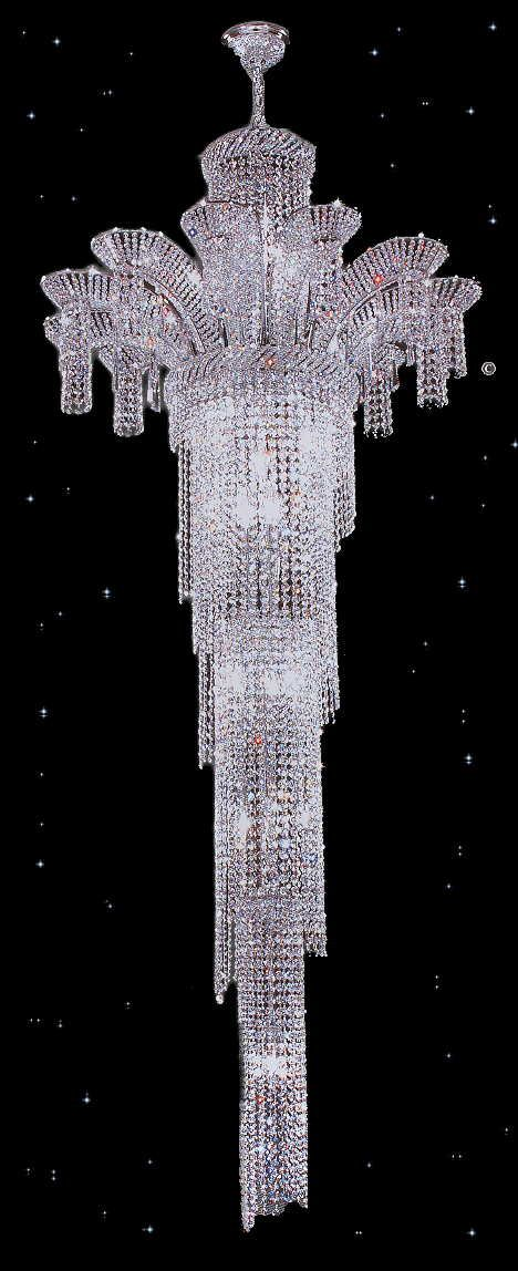 Crystal Chandeliers that look very pretty