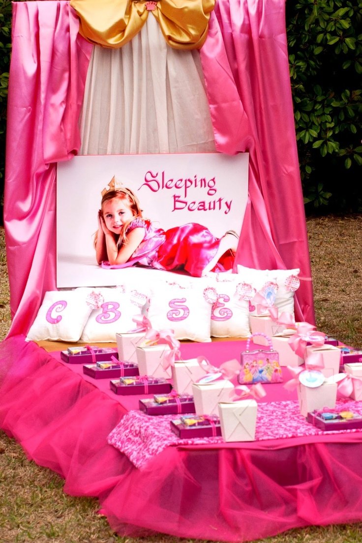 Birthday Party for a Princess. Sleeping Beauty ...