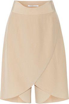 Agnona Layered silk shorts | THE OUTNET