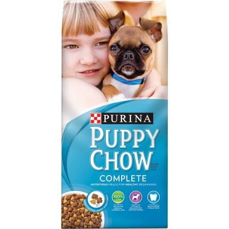 Purina Puppy Chow Chow Complete Puppy Dry Dog Food, 8 Lb, Multicolor