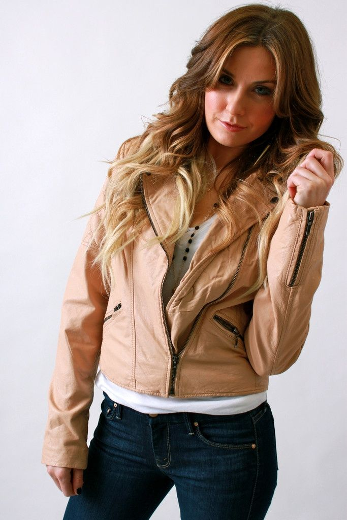 cute outfit ideas - moto jacket