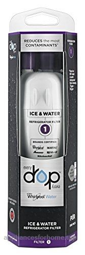 EveryDrop by Whirlpool Refrigerator Water Filter 1 (Pack of 1)  Check It Out Now     $45.99    Every Drop by Whirlpool Water Filter 1Certified to fit these leading refrigerator brands: Whirlpool, MAYTAG, KitchenA ..  http://www.appliancesforhome.top/2017/03/15/everydrop-by-whirlpool-refrigerator-water-filter-1-pack-of-1/