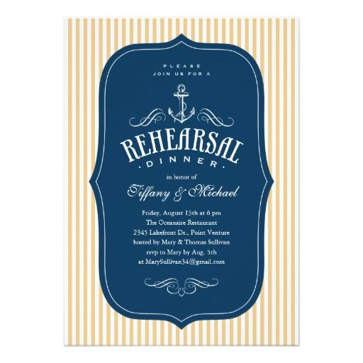 >>>best recommended          Nautical Rehearsal Dinner Invitations           Nautical Rehearsal Dinner Invitations you will get best price offer lowest prices or diccount couponeThis Deals          Nautical Rehearsal Dinner Invitations Review from Associated Store with this Deal...Cleck Hot Deals >>> http://www.zazzle.com/nautical_rehearsal_dinner_invitations-161909254687351404?rf=238627982471231924&zbar=1&tc=terrest