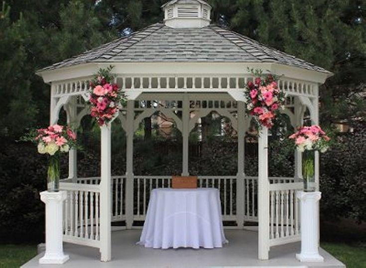 Outside Gazebo Wedding Decoration Ideas : Best wedding gazebo ideas on