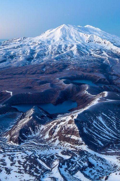Mt Ruapehu, Central Plateau, North Island, New Zealand