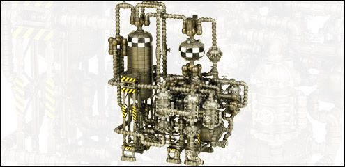 TEHNOLOG.RU - Toys with stories - Продукция - Строительные наборы - Chemical Plant