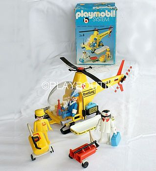 PLAYMOBIL 3247 HELICOPTERE VINTAGE ! http://www.playboutik.com/achat-playmobil-3247-helicoptere-407038.html