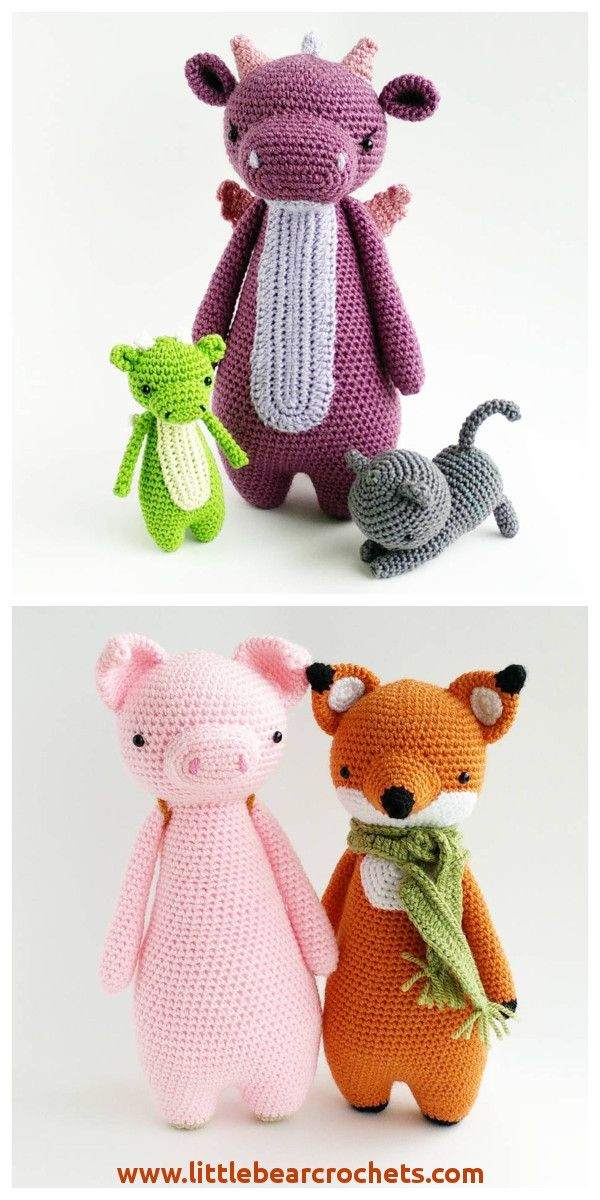 Crochet patterns by Little Bear Crochets: www.littlebearcrochets.com ...