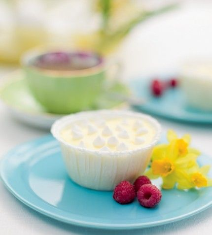 Citronglassformar med minimaränger/ELLE mat & vin
