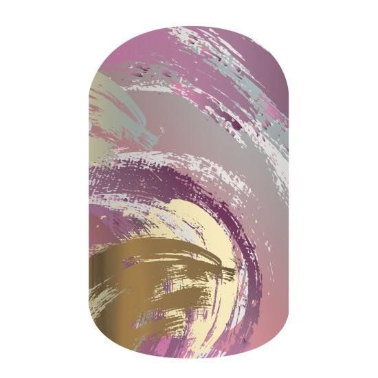 """May exclusive """"Velvet Crush"""" available at nickystone.jamberry.com #jamberry #nails"""