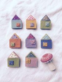 ちいさい刺繍・フェルトで小物作り。日々の暮らしなど。