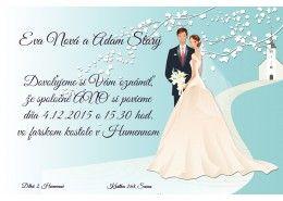 Svadobné oznámenie - SO251