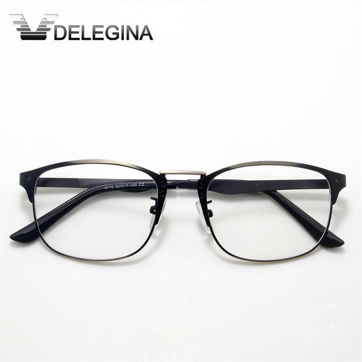 2016 retro metal clear lens johnny depp glasses frames men women optical