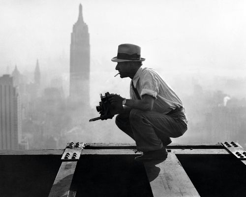 Men on Girder  :: during the construction of the Rockefeller Center in New York in 1932: Charles Ebbet, Famous Photos, Lunches, Art, New York, Portraits, Newyork, Photography, Photographers Charles
