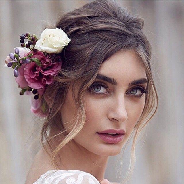 25+ Best Ideas About Bridal Hair Flowers On Pinterest